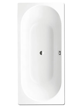 Classic Duo 109 Double Ended 1800 x 750mm Steel Bath