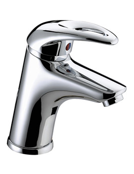 Java Mono Basin Mixer Tap With Clicker Waste - J BAS C