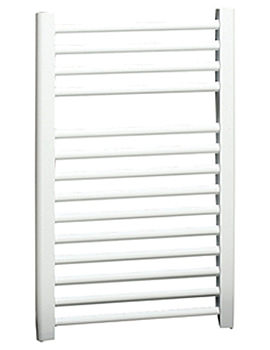 Napoli Straight Multirail White 450mm x 1100mm - ASW4.5W1100