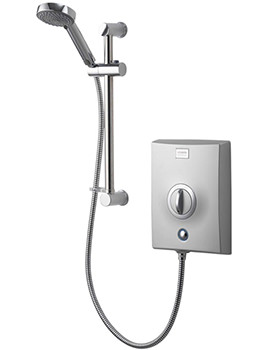 Quartz 10.5 KW Electric Shower Chrome - QZE10501