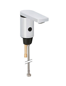 Hytronic186 Battery Supply Sensor Tap With Mixer And Lever Handle