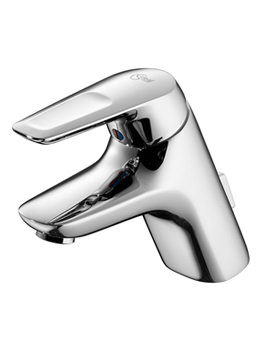Ceramix Blue Single Lever Basin Mixer With Pop-Up Waste