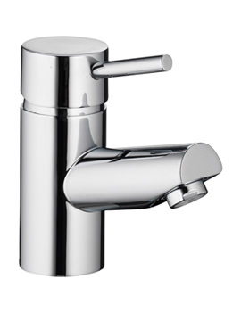 Xcite Single Lever Basin Mixer Tap With Clicker Waste - XCBAS