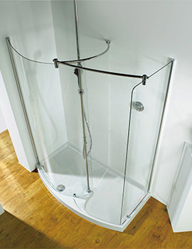 Ultimate 1700 RH Corner Walk-In Package With Shower Tower