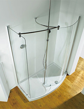 Related Kudos Ultimate 1700 LH Corner Walk-In Package With Shower Tower