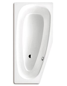 Mini 836 Left Steel Bath 1570 x 700mm Without Tap Hole