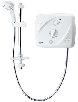 Tank-fed Pumped Electric Shower T90xr 8.5kw - SP9008SI