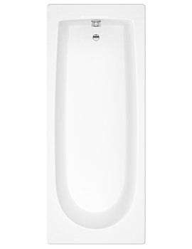 Hudson Reed Mono Round Single Ended Bath 1800 x 800mm - BMON015
