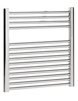 Design Flat Panel Towel Rail 600 x 690mm Chrome - DE60X69C
