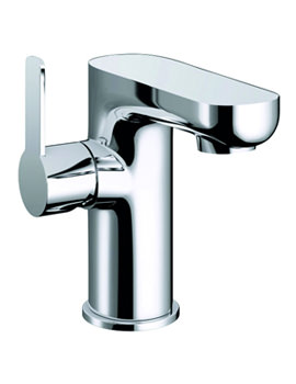 Echo Side Lever Basin Mixer Tap With Clicker Waste - ERBAS