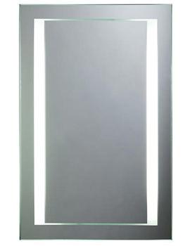 Align Rectangular Back-Lit Mirror 450mm x 700mm - SBL15