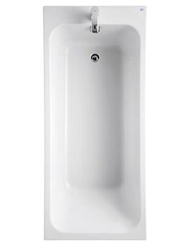 Ideal Standard Softmood Rectangular 1700 x 700mm No Taphole Bath