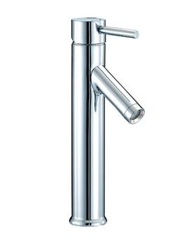 Series N Freestanding Mono Basin Mixer Tap 292mm High - SN003