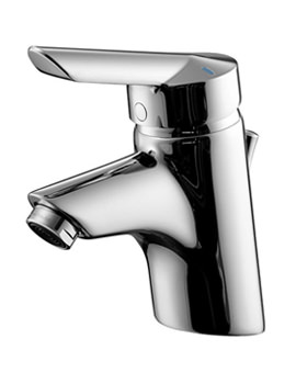 Piccolo 21 Basin Mixer Tap With Pop-Up Waste