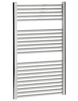 Design Flat Panel Towel Rail 600 x 1110mm Chrome - DE60X111C