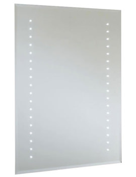 Rubens Demistable LED Mirror 400 x 600mm - 12SL18610