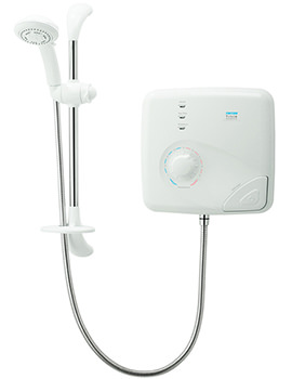 T150Z Pumped Thermostatic Electric Shower 8.5kw - SPSGPE08WC
