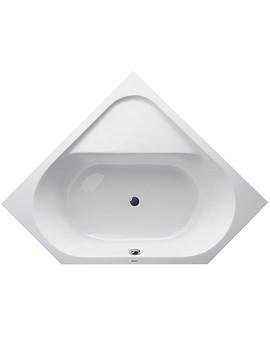 Duravit D-Code Corner Bathtub 1400 x 1400mm - 700139