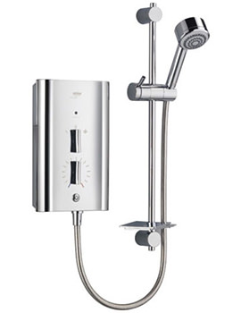 Escape Thermostatic Electric Shower 9kW Chrome