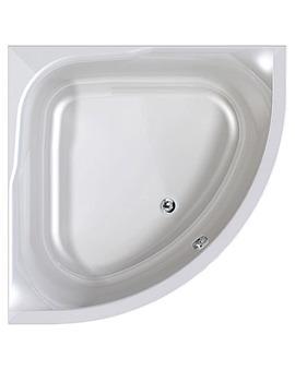 Aquaestil Satellite 1200 x 1200mm Corner Bath - 154SATELLITE