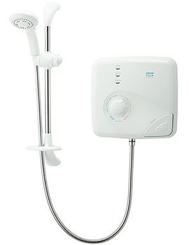 T150Z Pumped Thermostatic Electric Shower 9.5kw - SPSGPE09WC