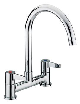 Related Bristan Design Utility Lever Kitchen Deck Sink Mixer Tap - DUL DSM C