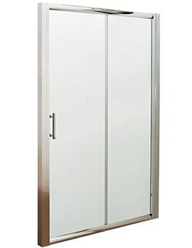 Lauren Pacific Sliding Shower Door 1200 x 1850mm - AQSL12