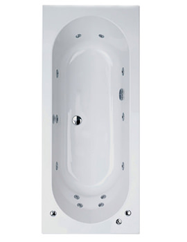 Phoenix Sienna Double Ended Whirlpool System 1 Bath 1700 x 750mm
