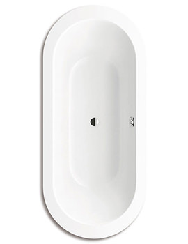 Classic Duo Oval Wide 115 Double Ended 1800 x 800mm Steel Bath