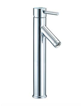 Series N Freestanding Mono Basin Mixer Tap 353mm High - SN005