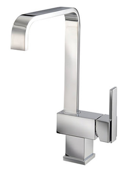 Flow Monobloc Kitchen Tap With Side Lever - KIT023