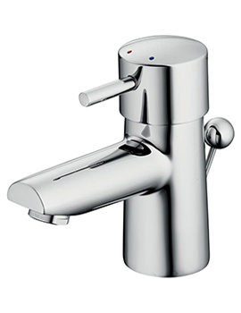 Cone Basin Mixer Tap With Pop Up Waste - B5107AA