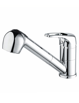 Pear Sink Mixer Tap With Pull Out Hose