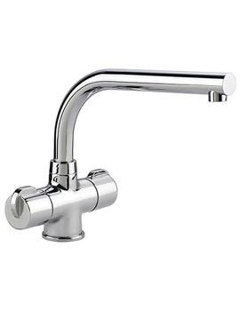 Rangemaster Aquadisc 3 Monobloc Kitchen Sink Mixer Tap Chrome