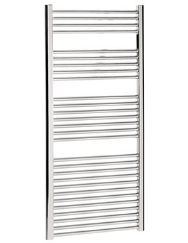 Design Flat Panel Towel Rail 600 x 1430mm Chrome - DE60X143C