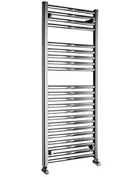 Related DQ Heating Metro 500 x 1000mm Straight Heated Towel Rail - Chrome