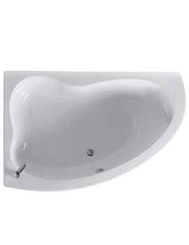 Create Idealform Offset Corner Bath 1600 x 1050mm
