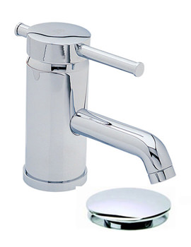 Heritage Fairport 1 Taphole Basin Mixer Tap With Waste - TSFC04K