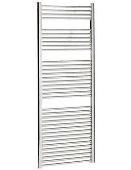 Design Flat Panel Towel Rail 600 x 1700mm Chrome - DE60X170C