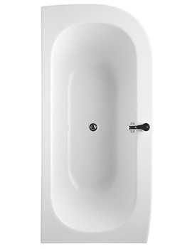Jasper Morrison Left Handed Bath 1800 x 850mm
