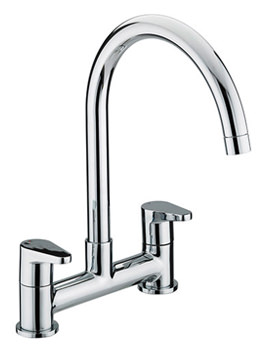Quest Deck Kitchen Sink Mixer Tap - QST DSM C
