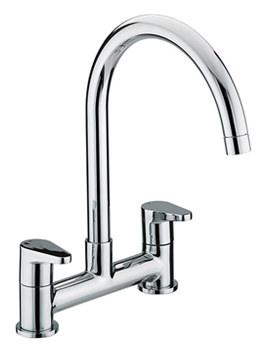 Quest Deck Kitchen Sink Mixer Tap - QST DSM C
