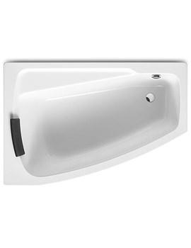 Related Roca Waitara-N Left Hand Corner Acrylic Bath 1500 x 1000mm - 248071000