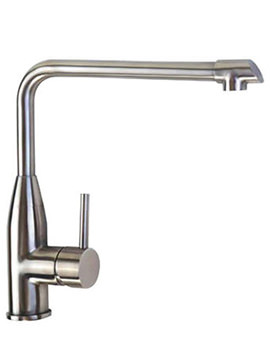 Mayfair Luca Stainless Steel Kitchen Mono Sink Mixer Tap - KIT219