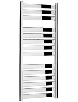 Bauhaus Edge Flat Panel Towel Rail Chrome 500 x 1150mm - ED50X115C