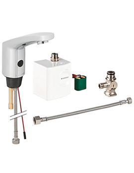 Type 185 Below Desk Mixer Tap With Generator-116.365.21.1
