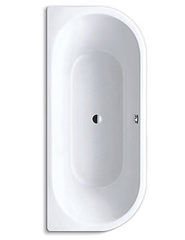 Centro Duo 2 Supersteel Bath 1700 x 750mm - 2831 0001 0001