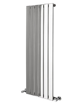 Virgo Straight Chrome Towel Warmer 455 x 1210mm - 148249