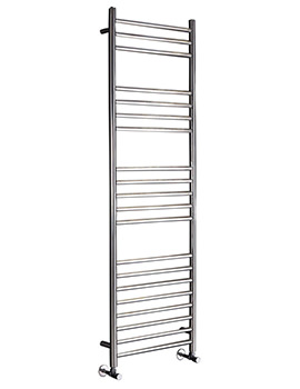 Athena 350mm Stainless Steel Pre Filled Electric Towel Rail