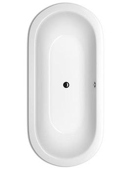 STARLET Oval Super Steel Bath 1950 x 950mm - BETTE2745